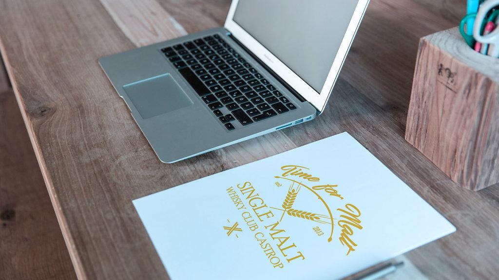 Whisky Club Castrop - Logodesign