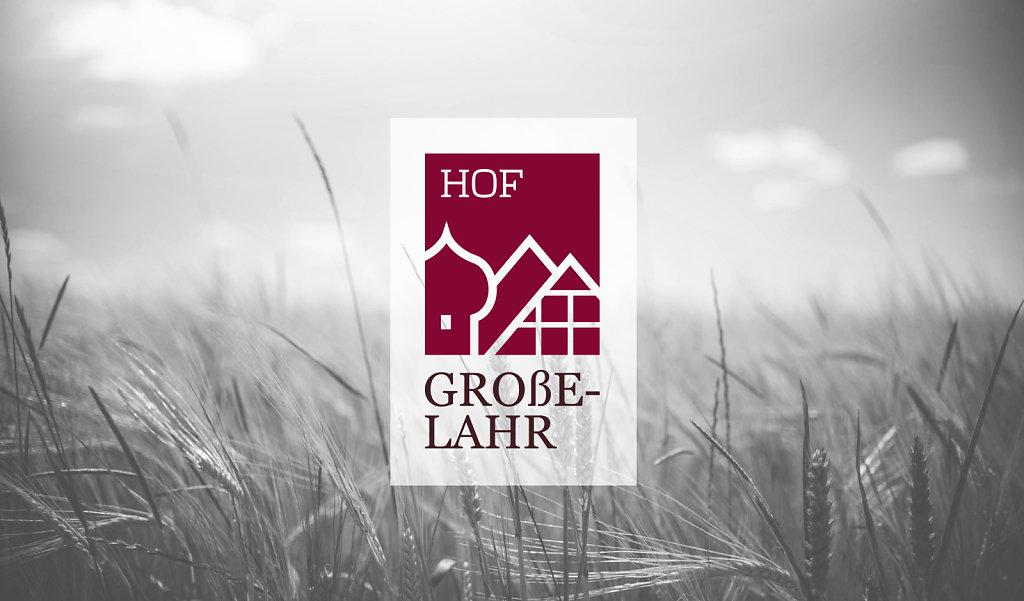 Hof Große-Lahr - Corporate Design